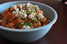 [Leaf Parade. Buffalo chicken quinoa salad.]