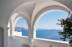 dustjacket attic: Destinations | Santorini