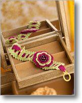 Irish Rose Bracelet by Karen Hoover