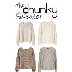 Fall chunky sweaters... I love em!!