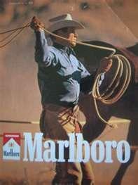 american icon, affich vintag, drew design, ad campaign, marlboro man