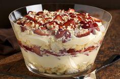 Twisted Strawberry Shortcake trifl, strawberry shortcake recipes, sweet, twist strawberri, food, shortcak recip, strawberries, dessert, strawberri shortcak