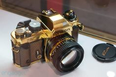 Nikon FA Gold  Camera Gran Prix 1984  24K Gold