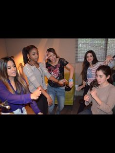 Fifth Harmony Day 2 in the Studio