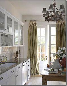Kitchen remake on pinterest white cabinets travertine for Kitchen remake ideas