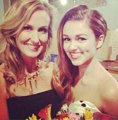 Sadie with mom Korie