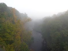 Foggy Vermillion River