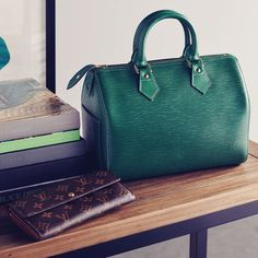 Green Speedy #LouisVuitton