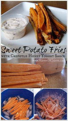 Sweet Potato Fries - YUM! potato fri, sweet potato