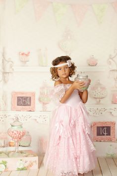 Vintage Candy Shop Backdrop baby dream backdrop giveaway @photographers connection