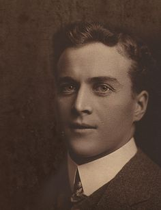 Lionel Logue.  Australian speech therapist to King George VI.  Image courtesy of Mark Logue.