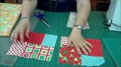 Double Slice Layer Cake Quilt Tutorial - Video - Jenny Doan shows how to make a the fast and easy Double Slice Quilt using Layer Cakes.