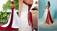 Valentine's Day Wedding Dress http://www.smartbrideboutique.com/media/images/Red-Wedding-Dresses.jpg