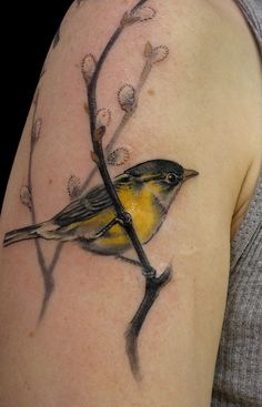 Realistic flying bird tattoo for Realistic bird tattoo