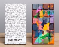 Artisan Chocolate Bars from Unelefante