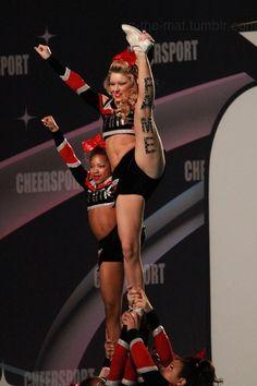 #cheer #cheerleading #stunt #allstar #competition #sport