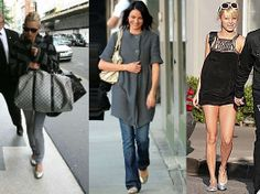 Great flats, Kate Moss, Cameron Diaz and Nicole Richie!