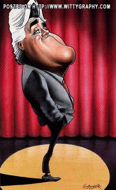 Jay Leno by Stephen-silver