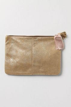 golden plains pouch / anthropologie