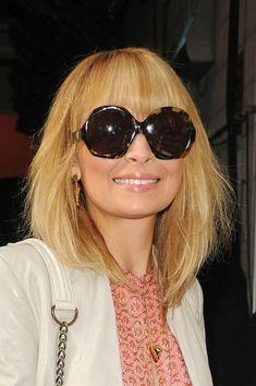 Nicole Richie Medium Layered Cut