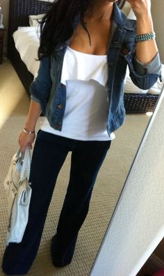 Great traveling outfit :)