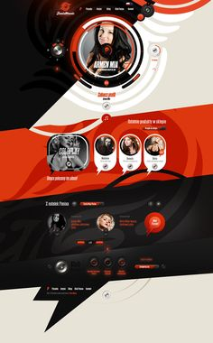 Fenix Music by Dominik Wasienko, via Behance #webtastic