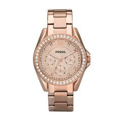 fossil watches, fashion, rosegold, style, dream closet