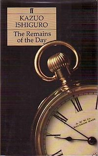 #UWBookMadness The Remains of the Day by Kazuo Ishiguro   Category: Union Jack   In 1956, Stevens, a long-serving butler at Darlington Hall, decides to take a motoring trip through the West Country. The six-day excursion becomes a journey into the past that takes in fascism, two world wars and an unrealized love between the butler and his housekeeper. Ishiguro's novel is a sad and humorous love story, and an elegy for England at a time of acute change.