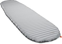 The Therm-a-Rest NeoAir XTherm sleeping pad has high R-value, thickness and layers of reflective barriers for greater comfort and warmth in backcountry outings. #REIGifts product, camp stuff, camp gear, outdoor gear, travel, sleep pad, thermarest neoair