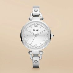 FOSSIL® Watch Collections Georgia:Women Georgia Stainless Steel Watch ES3083
