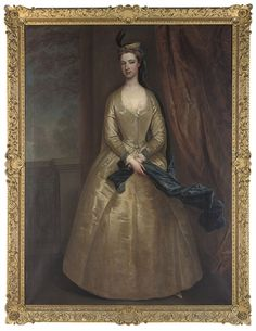 Lady Barbara Herbert, was the only child and daughter of Thomas Herbert, 8th Earl of Pembroke and 5th Earl of Montgomery (1656-1732/3) and his second wife, Hon. Barbara Slingsby (d. 1722). The 8th Earl was the principal founder of a highly significant art collection that remains largely intact at the family seat of Wilton, though the Wilton diptych, presently in the National Gallery, London, was sold in 1929. Barbara married Dudley North, son of Dudley North of Glemham.