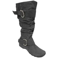Gray Fall boots