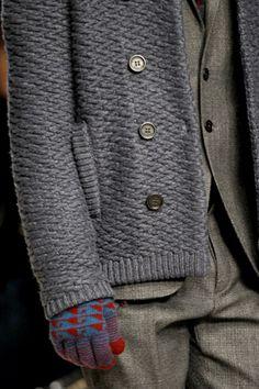 menswear project, jacket, sweater, 2012 menswear, glove, fall menswear
