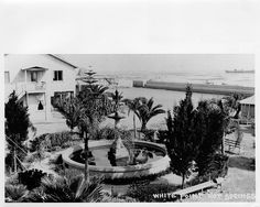 histori, san pedro, white point, hot springs, fountain center, bath hous