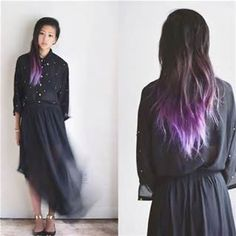 lavender ombre hair - Bing Images