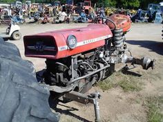 Massey Ferguson 165 tractor salvaged for used parts. Call 877-530-4430 for the best used ag parts. http://www.TractorPartsASAP.com
