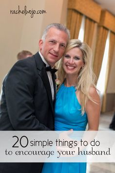 20 ways to encourage your husband.