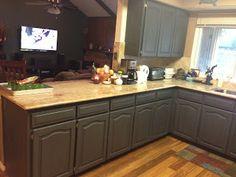 decor, chalk paint, kitchen idea, paints, open kitchens, refinish kitchen, wilker dos, diy, kitchen cabinets
