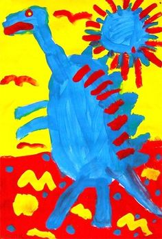 "From exhibit ""Primary Colors Dinosaur -1"" by enzo68"