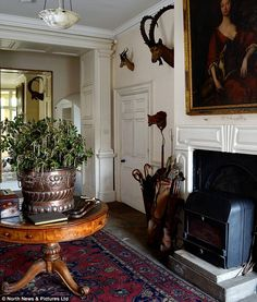 Beautiful--Antiques: Items untouched for almost 100 years were discovered amongst the 28 rooms in 18th Century mansion The Hermitage in Hexham, Northumberland