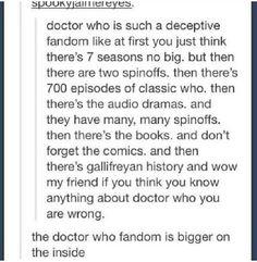 The Doctor Who fandom