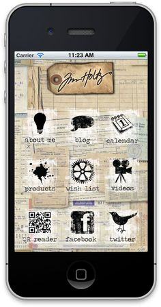 tim holtz app