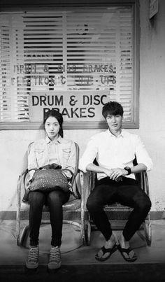 Park Shin-hye & Lee Min-ho