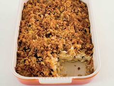 Another Noodle Kugel with Dried Cherries.  (This is made with Cottage Cheese)