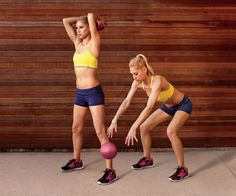 Medicine Ball Workout - quick total body workout
