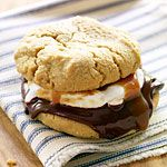 Gourmet Glamp Food (other recipes, too!) Caramel-drizzled S'mores