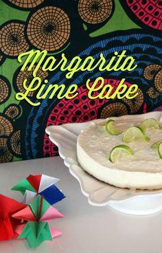 Margarita lime cheese cake