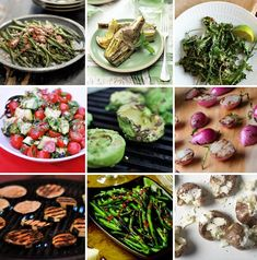 Grilled Veggies A-Z