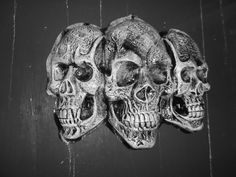 skulls tryptique