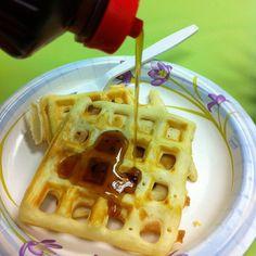 Waffle Wed. finished product ...